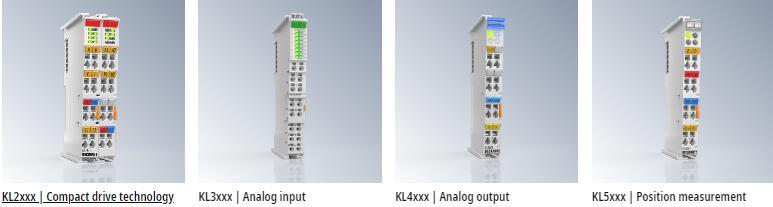 BECKHOFF Bus Terminal:KL2xxx|Compact drive technology KL3xxx|Analog input KL4xxx|Analog output KL5xxx|Position measurement